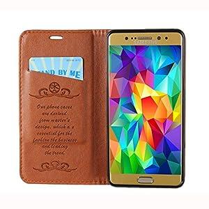Samsung Galaxy S8 Plus Case Premium Leather Folio Case Flip Wallet Cover Magnetic Closure TPU bumper Full for Samsung Galaxy S8 Plus by Aroko