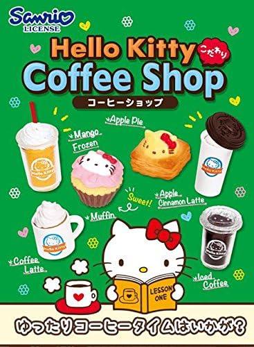 Caja sorpresa de miniaturas café Hello Kitty Coffee Shop de Re ...