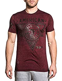 Men's Siena Heights Tee Shirt Rusted Red