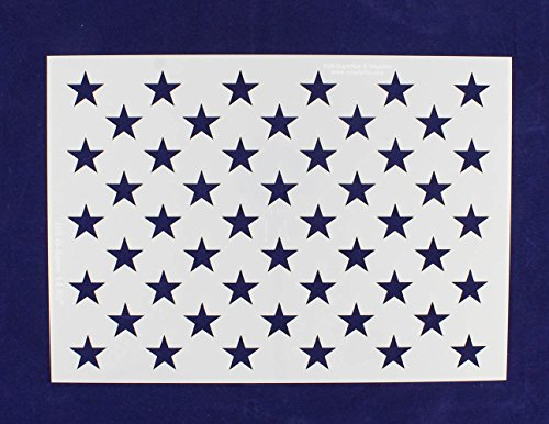 (50 Star Field Stencil - American Flag - G-Spec 10.5