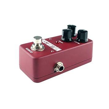 Healifty Pedal de efectos de demora de guitarra Distorsión de efectos de guitarra para guitarra eléctrica: Amazon.es: Instrumentos musicales