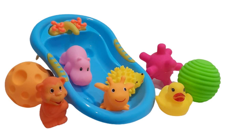 Bathtime joy
