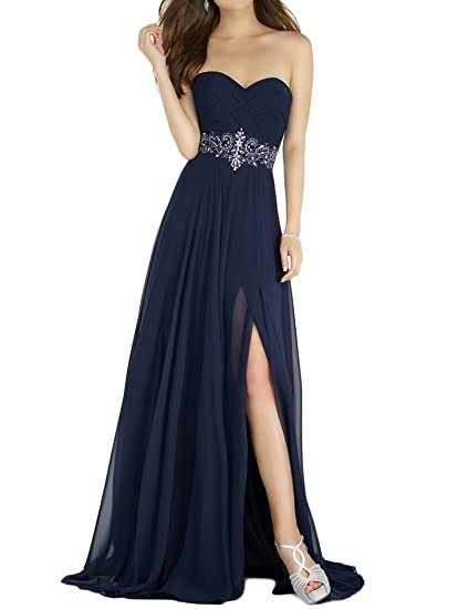 360bd24e269 Amazon.com  JoJoBridal Women s Long High Low Prom Dresses Formal Evening  Gowns M223  Clothing
