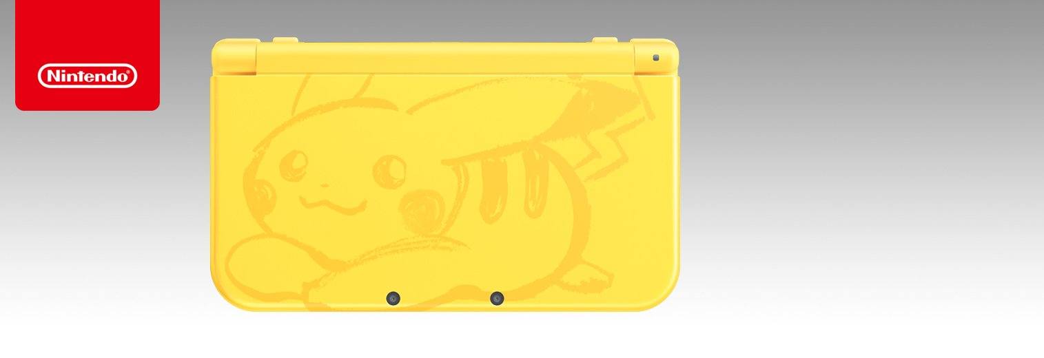 Nintendo New 3DS XL - Pikachu Yellow Edition [Discontinued] by Nintendo (Image #2)
