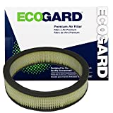 ECOGARD XA84 Premium Engine Air Filter Fits Dodge Charger, Dart, Challenger/Plymouth Barracuda, Satellite/Dodge Coronet/Plymouth Duster/Chrysler Cordoba, New Yorker, Newport/Plymouth Fury