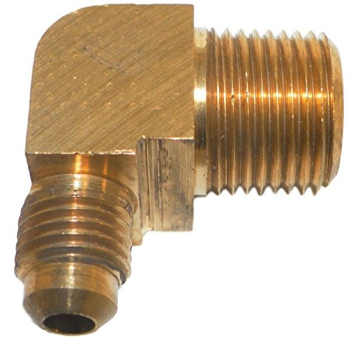 Big A Service Line 3-149460 90 deg Male To Male Elbow Brass Fitting 1/4