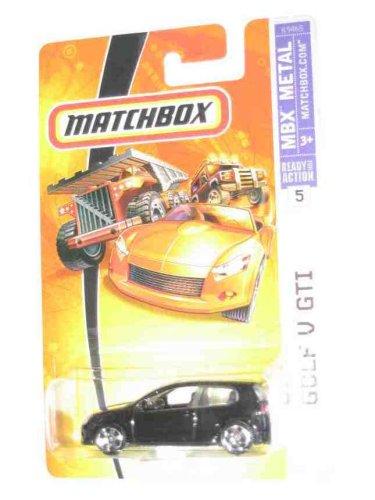 2007 Matchbox #5 Golf V GTI Black Collectibles Collector Car ()