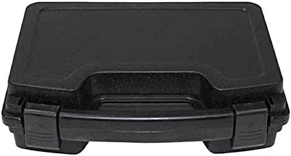 MFH SMALL PISTOL CASE HANGUN CARRY CASE HARD PLASTIC BLACK
