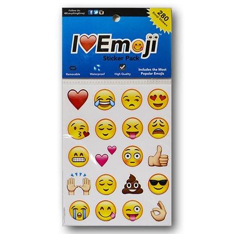 ( Everything Emoji | 280 Emoticon Stickers | I Love Emoji | Seen On Iphone, Facebook, Instagram,)