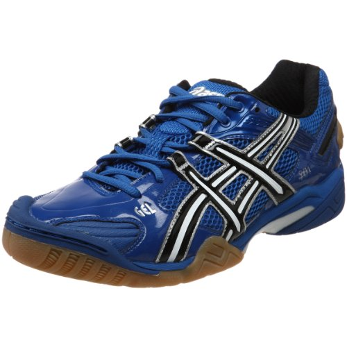 ASICS Men's GEL-Domain 2 Volleyball Shoe,Jet Blue/Jet Black/White,6 M US (Asics Gel Domain)