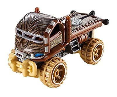 Hot Wheels Star Wars Character Car, Chewbacca