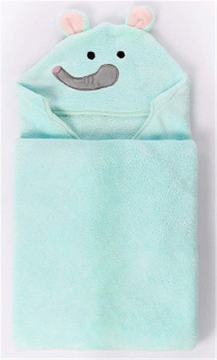 Ameyda Kids Animal Face Hooded Fleece Blanket