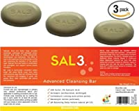 3 Pack - SAL3 Soap - 3% Salicylic Acid, 10% Sulfur from SAL3