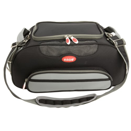 Teafco Argo Large Aero-Pet Airline-Approved Pet Carrier, Black by Teafco