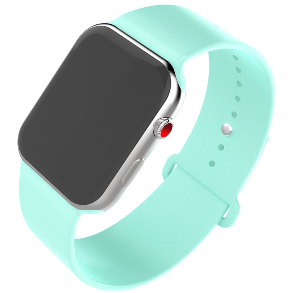 HILIMNY Compatible para Correa Apple Watch 42MM, Suave Silicona Correa Compatible para iWatch Series 3