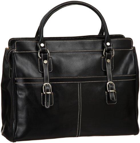 Floto Casiana Mini Handbag, Black, One Size by Floto