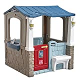 Little ones will have the perfect home to play the day away with the Seaside Villa Playhouse by Step2. Tots can kick back and relax on the front porch bench to socialize with their friends. When social hour is over, kids can head inside the playhouse...
