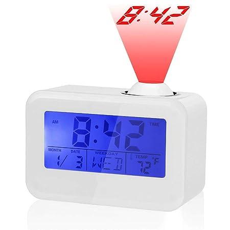 Radio Despertador Digital Proyector,Despertador Reloj Digital de ...