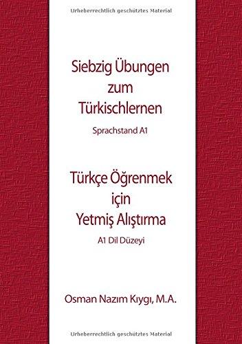 Siebzig Übungen zum Türkischlernen: Sprachstand A1