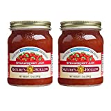 Nature's Hollow, Sugar-Free Strawberry Jam Preserves, 10 Ounces Each, Non GMO, Keto Friendly, Vegan and Gluten Free - 2 Pack Larger Image