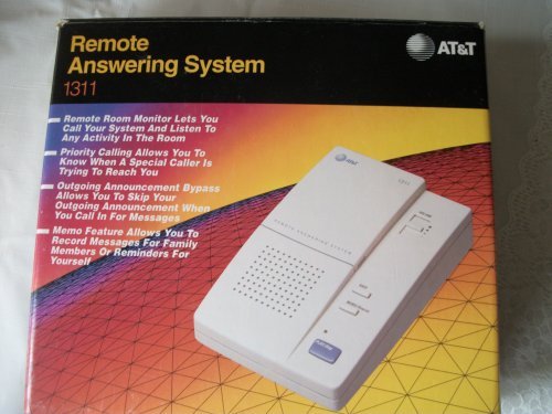 At&T Cassette Remote Answering System by AT&T