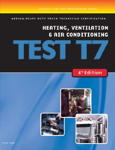 ase test preparation duty heavy truck certification technician conditioning learning cengage ventilation heating