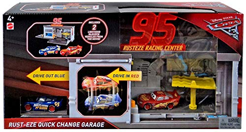 Cars For Change - Mattel Disney Pixar Cars Quick Change Garage