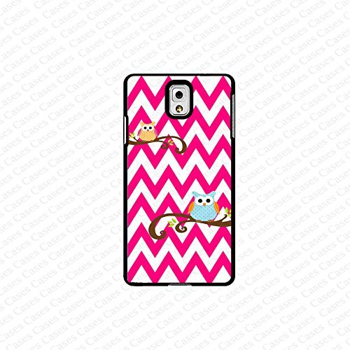 krezy case Galaxy Note 4 case- pink chevron with owl samsung Galaxy Note 4 case- Cute Note Case, Galaxy Note 4...