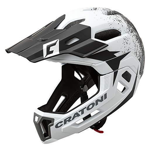 Cratoni C-Maniac 2.0 MX MTB helm zwart/rood 2020 fietshelm