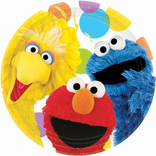 Sesam (Cookie Monster Party Supplies)