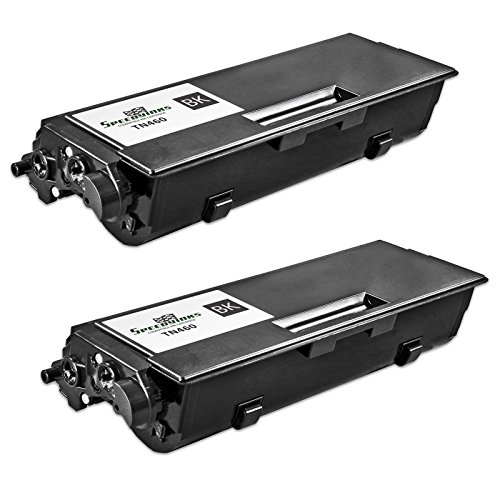 Speedy Inks - Compatible Brother 2 Pack TN-460 Toner Cartridge 6, 000 Page Yield for Brother HL 1435, Brother HL 1440, Brother HL 1450, Brother HL 1470n - Black