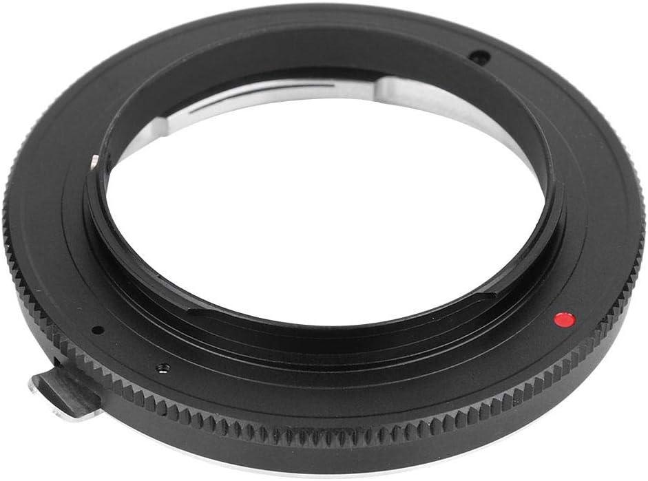 Yoidesu Lens Mount Adapter,Manual Focus Lens Mount Adapter for Nikon-4//3,Aluminum Alloy Lens Mount Adapter Ring for Nikon AI Lens to Olympus 4//3 Mount Camera