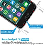 iPhone 8 7 Screen Protector, [2-Pack] TheCoos iPhone 8 7 Tempered Glass Screen Protector For Apple iPhone 8 iPhone 7 - 2 Pack
