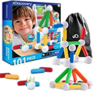 Discovery Kids 51-Piece Magnetic Building Block Set