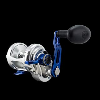 product image for Accurate Boss BX-400 Single Speed Reel - Silver/Blue - Right Handed