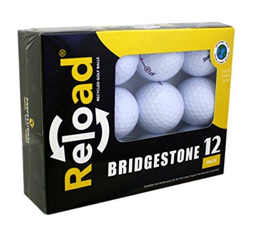 Recargue pelotas de golf recicladas (paquete de 12) de pelotas de golf Bridgestone
