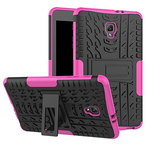 Tab A 8.0 T380 Case DWaybox Hybrid Rugged Heavy Duty Armor Hard Back Case Cover with Kickstand for Samsung Galaxy Tab A 8.0 2017 SM-T380/T385/Samsung Tab A2 S 2017 (Hot (Hybrid Hard Case)