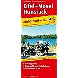 Eifel - Mosel - Hunsrück: Motorradkarte mit Ausflugszielen, Einkehr- & Freizeittipps und Tourenvorschlägen, wetterfest, reissfest, abwischbar, GPS-genau. 1:200000 (Motorradkarte / MK)