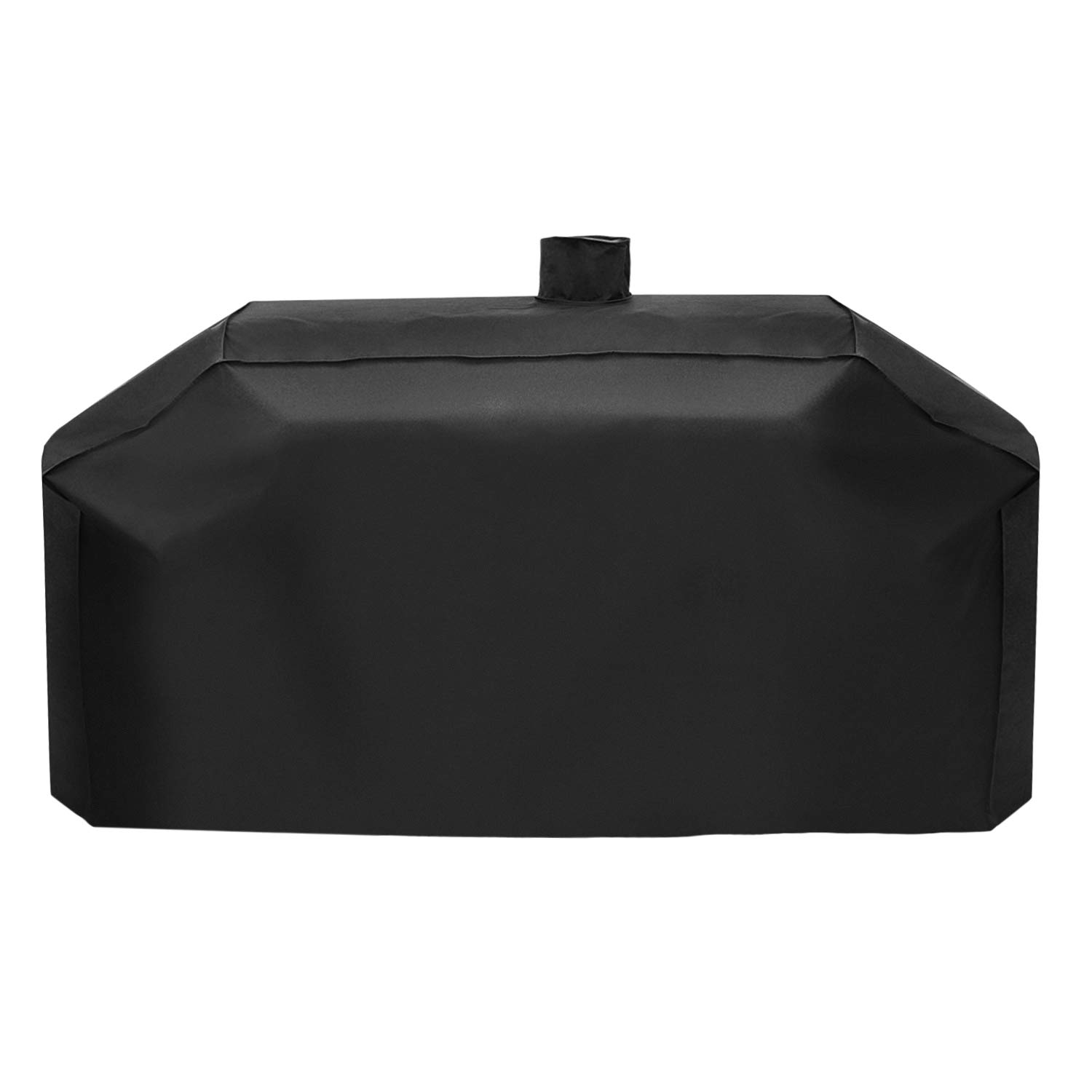 SunPatio Outdoor Heavy Duty Waterproof Grill Cover for Smoke Hollow Gas/Charcoal Grill and More, UV Resistant Barbecue Cover 79 Inch, All Weather Protection, Black by SunPatio