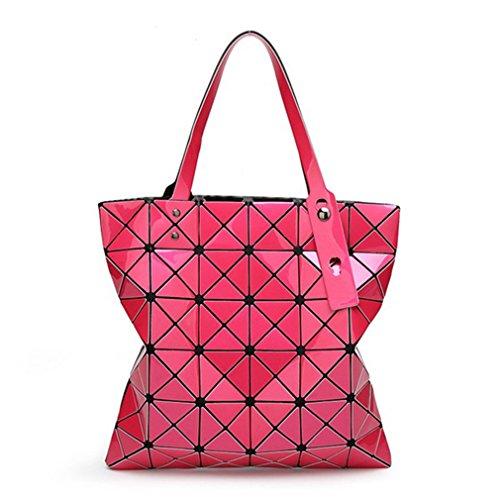 15 Sacchetti Di Spalla Geometry Tracolla Laser Donne Borsa Colori A Hot Pieghevole pink Ivory Bao Diamond Shopper Lattice Tote Shimmer qqr1OPx7