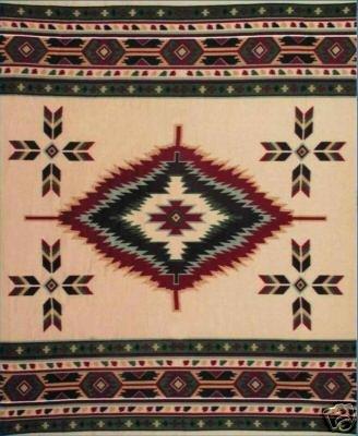 Southwest Fleece Blanket - Tan Southwest Design Polar Fleece Throw Blanket 50x60