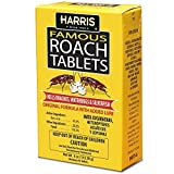 Harris HRT-4  Famous Roach & Silverfish Killer, 4oz Tablets - Treats a Minimum of 8 Rooms, 95+...