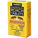 Harris Famous Roach & Silverfish Killer, 4oz Tablets - Treats a Minimum of 8 Rooms, 95+ Tablets Included