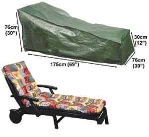 Carcasa de Protección–Lona protectora para tumbona de jardín tumbona 175cm