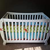 Amazon Com Blvd67 Zig Zag 3 Piece Baby Crib Bedding Set