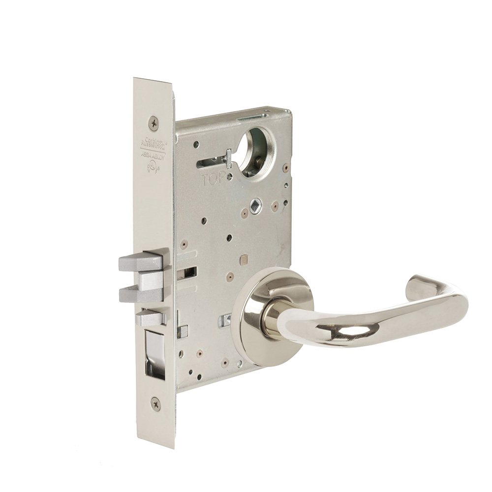 Entrance//Entry//Office Steel; Stainless Steel; Brass Corbin Russwin Architectural Hardware CORBINRUSSWIN ML2051-LWA-625-LC 625 Bright Polished Chrome Lever LWA Lustra
