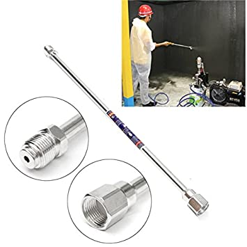Wchaoen 19,5 pulgadas de aluminio 45cm Varita de pulverización ...