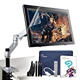 """Parblo Coast22 21.5"""" IPS Battery-free Pen Digital Tablet Graphic Drawing Monitor Kit with Clip Studio Paint Pro (Manga Studio) and Foldable Monitor Desk Mount Stand+Screen Protector"""