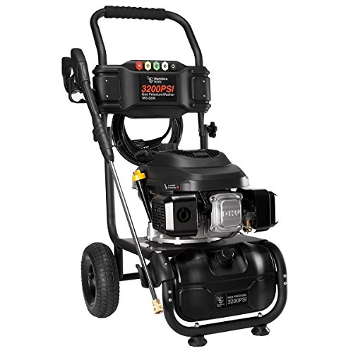 HUMBEE Tools WG-3200 3,200 Psi Gas Powered Pressure Washer, Black -