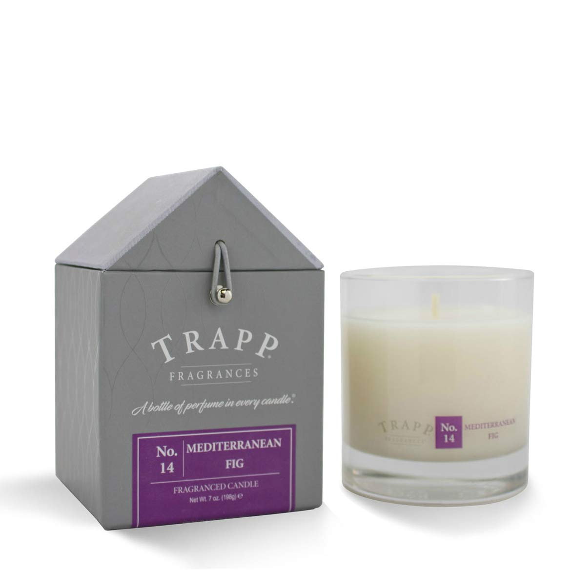 Trapp Signature Home Collection No. 14 Mediterranean Fig Poured Scented Candle, 7-Ounce
